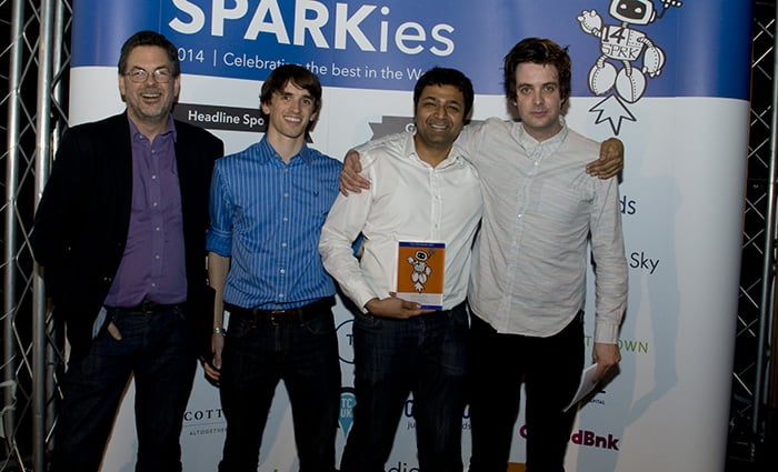 Sparkies awards winner From Chips to