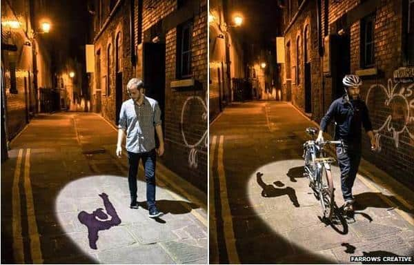 Shadow stealers art piece takes Bristol by storm