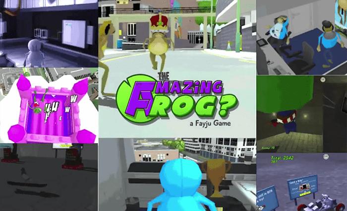 Amazing-frog
