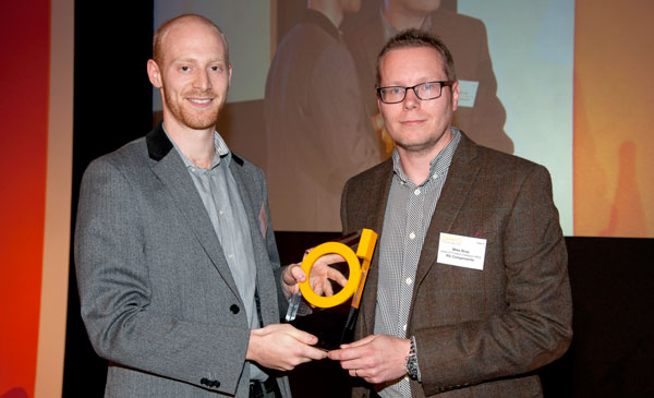 Open Bionics founder Joel Gibbard wins Young Designer of the Year