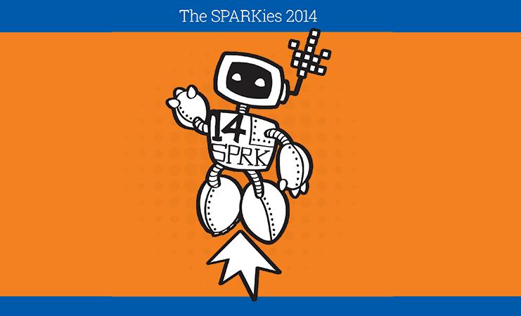 The SPARKies awards 2014 shortlist announced!