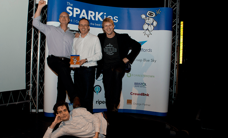 SETsquared: Winners of the SPARKies 2014 Best Service Provider award