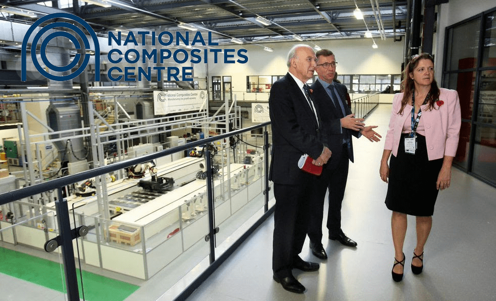 Vince Cable opens £28m extension to the National Composites Centre, Bristol