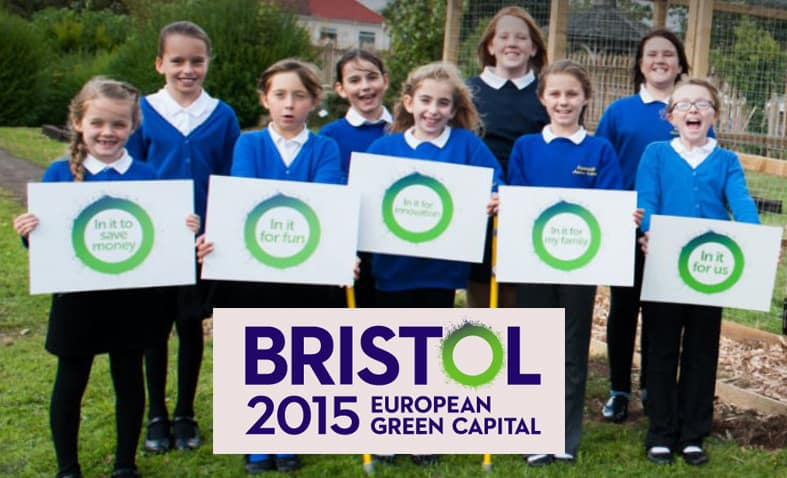 Bristol now European Green Capital city – and you can win £50K making it greener