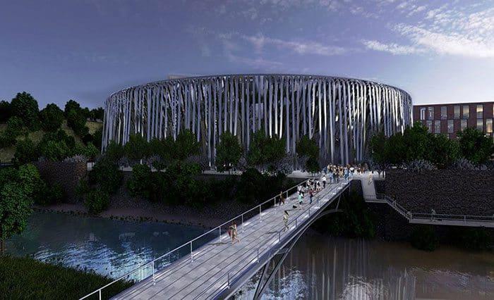 Bristol Arena proposed designs