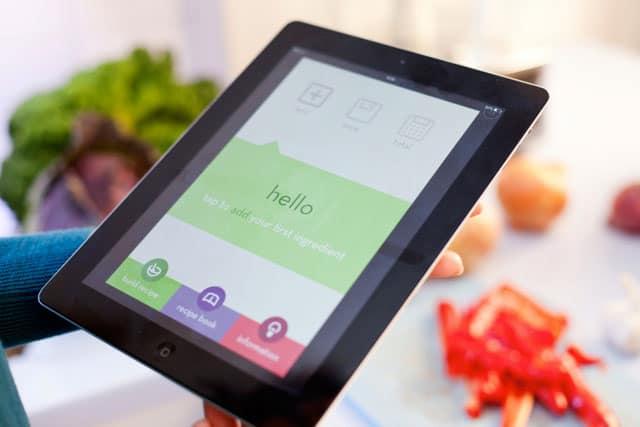 deborah wilders app cook and count displayed on an apple ipad