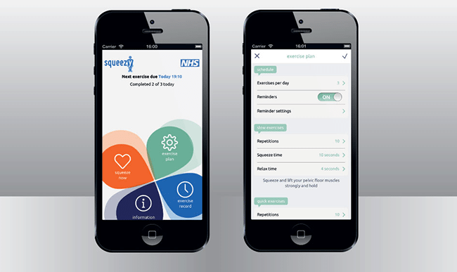 Spotlight On: Squeezy, the NHS app which beat 20 similar offerings to medical journal's top spot