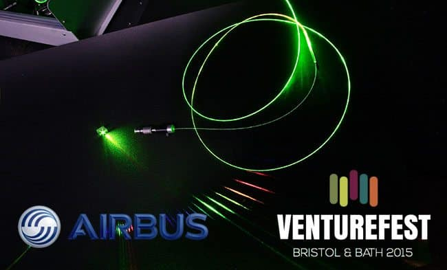 Airbus sponsorship means the sky is the limit for innovation event Venturefest Bristol & Bath 2015