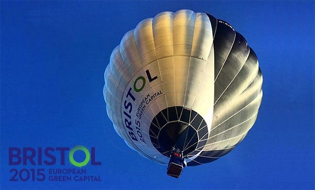 Bristol produces the world's first hybrid solar-powered hot-air balloon