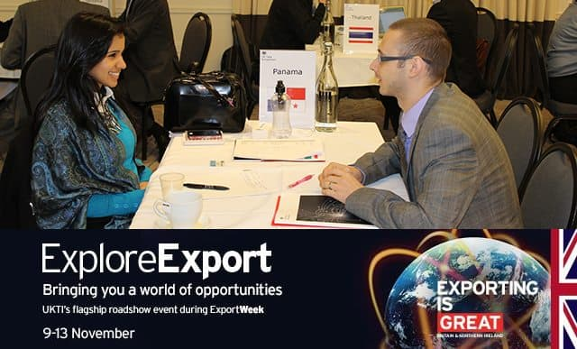Spotlight on: Bristol's ExploreExport 2015 looking for SW tech or engineering companies looking to export their products