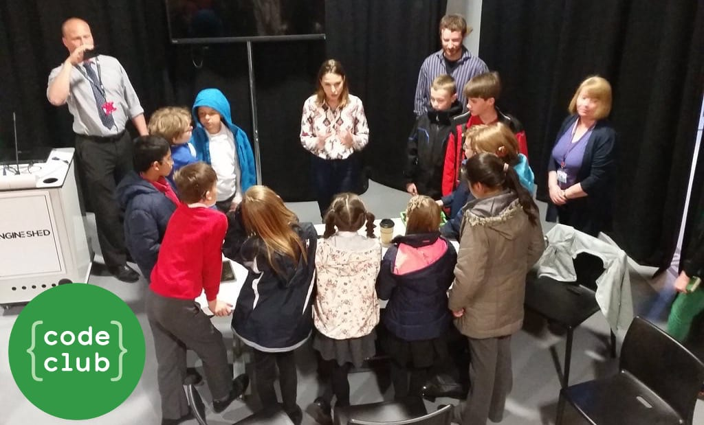 Code Club kids get a glimpse of inspiring start-up success in Bristol's tech hub, the Engine Shed