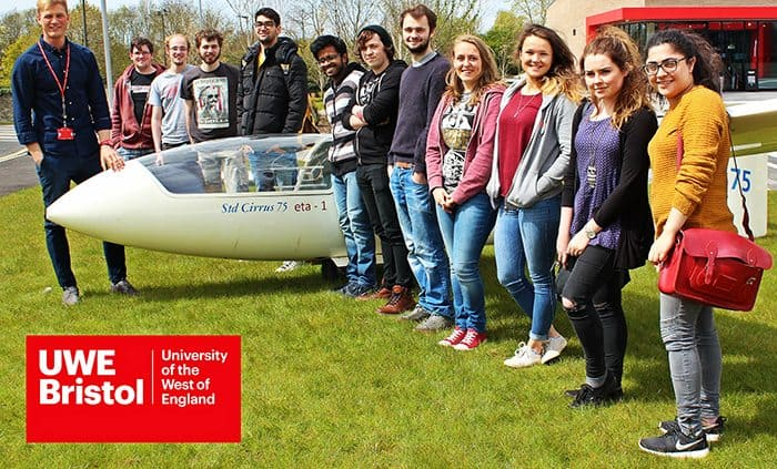 UWE students first in UK to build fully electric aircraft