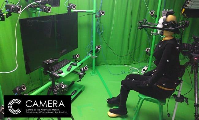 Profile: CAMERA – Bath's £5 million state-of-the-art motion capture studio
