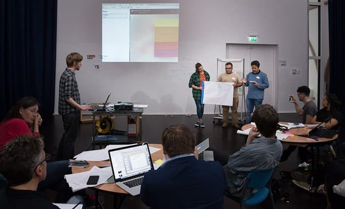 Community power prevails at Bristol's first Refugee Hack Day