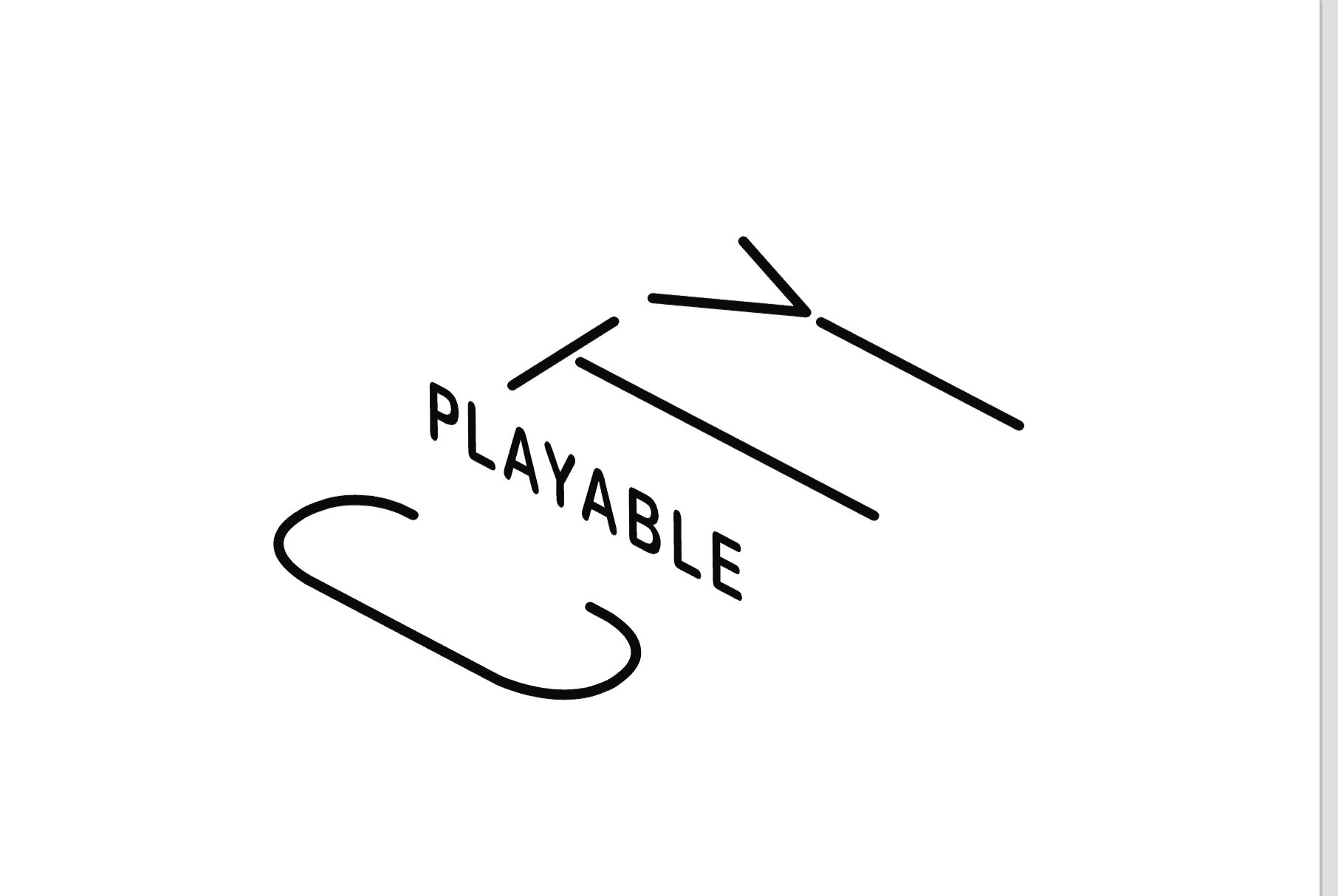playable cities logo