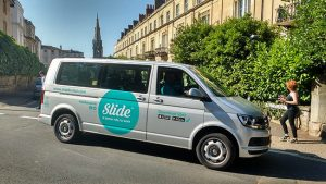 Slide minivan in Clifton