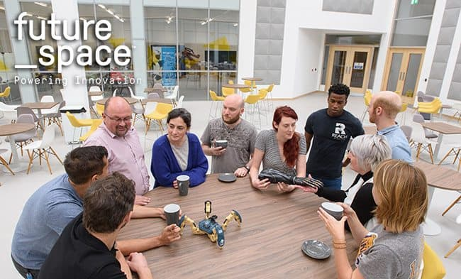 UWE's Future Space innovation hub opens for business