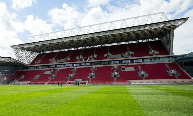 Ashton Gate stadium goes high tech