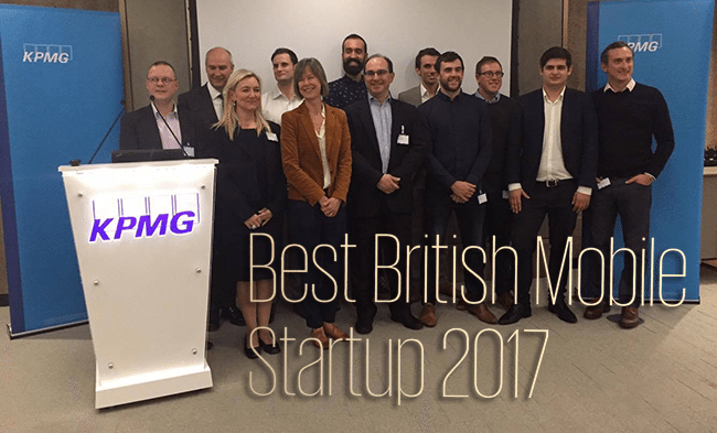 Winner of the KPMG best mobile app competition (South) announced