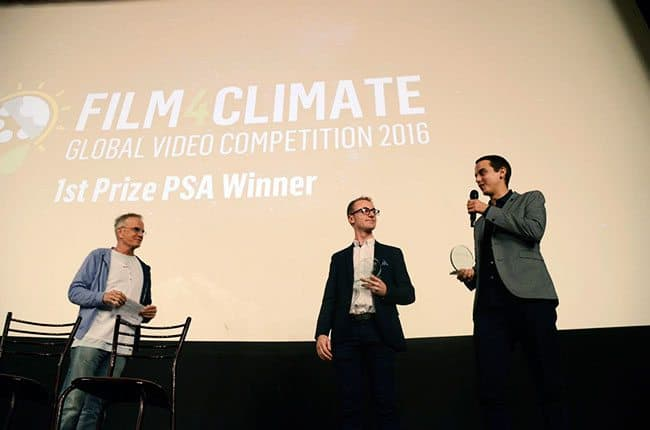 Bristol film-makers win renowned World Bank Award for short film on carbon pricing