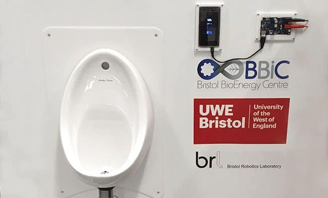 Tune into The Royal Institution's Christmas lectures to see BRL charge mobile phones through the power of pee