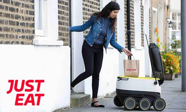 Want a chatbot to work out what food you want to eat and then get it delivered by a robot?