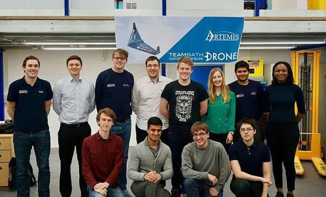 Meet Team Bath Drones – the group of students taking autonomous drones to new heights