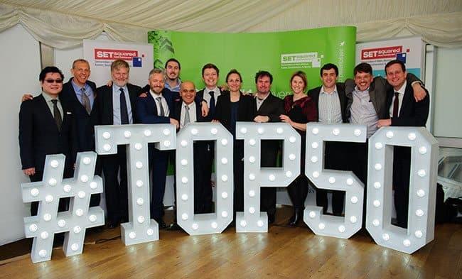 Bristol & Bath entrepreneurs celebrated in SETsquared top 50