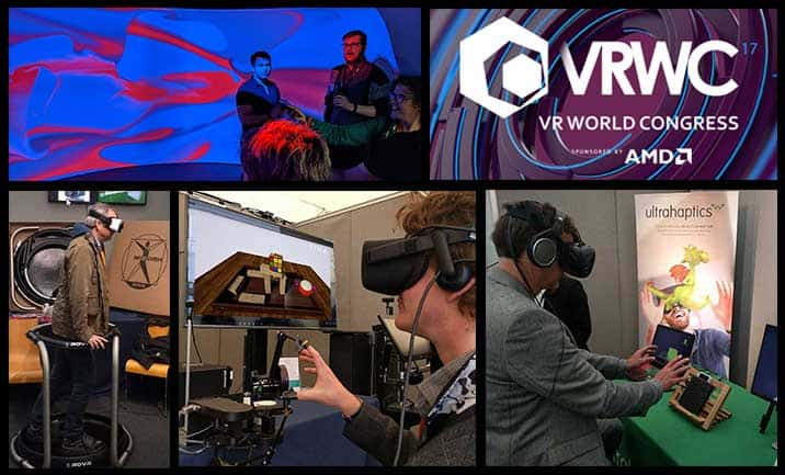 13 cool virtual reality tech demos we got to try at VR World Congress