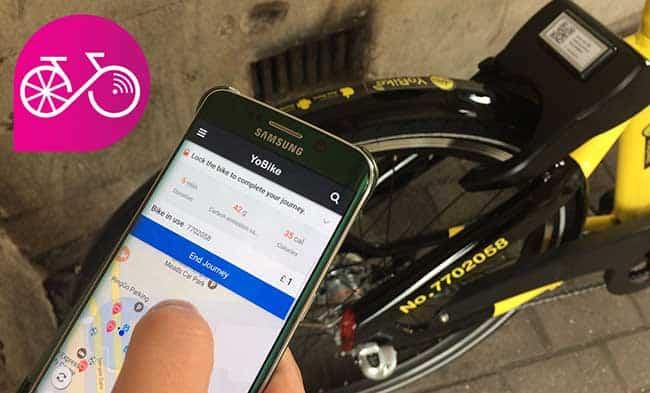 YoBike cycles into Bristol