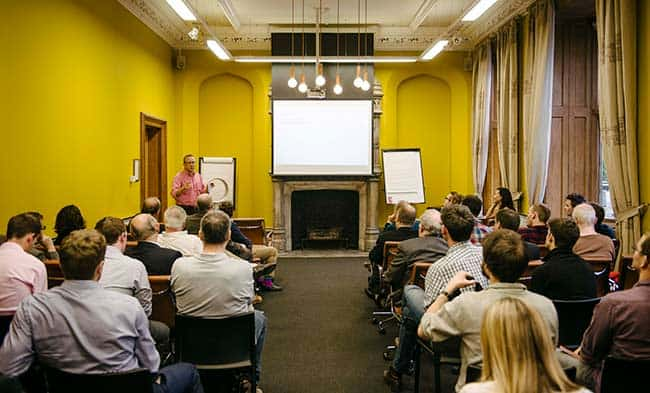Talk through your tech business pitch with an experienced investor at Engine Shed