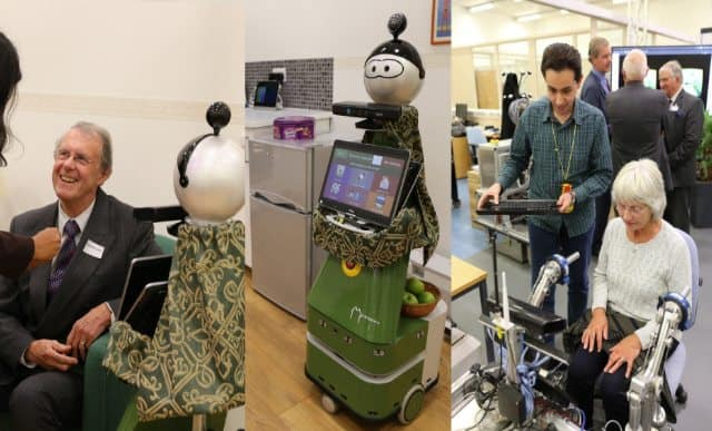 Homecare robots compete in Bristol