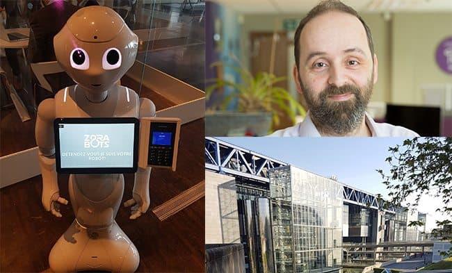 Bristol robotics company discover new applications for humanoid robot