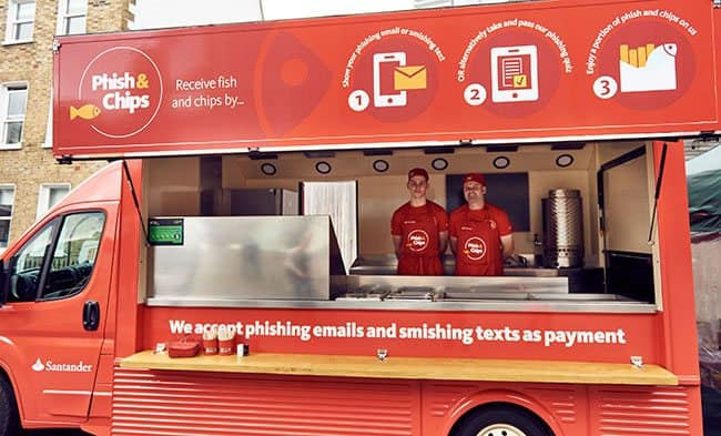 Phish and chips van to dish out security advice (and chips) in Bristol