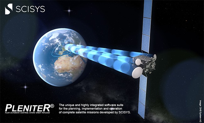 SCISYS win €18m contract to provide tech to pioneering satellite comms project