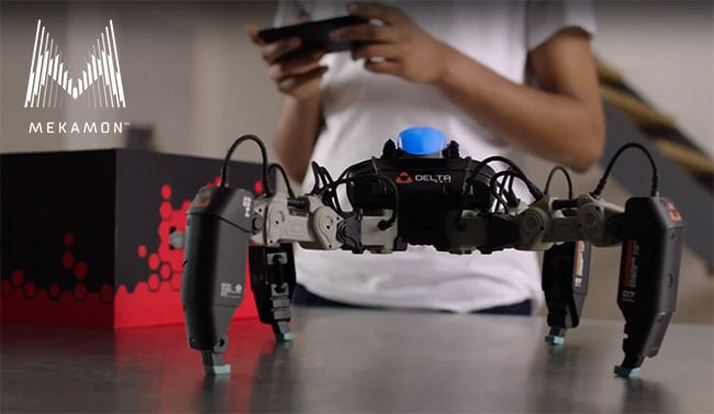 Mekamon fighting robots now on sale in Apple stores