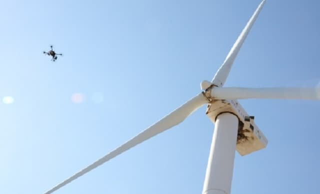 Unmanned craft monitor wind turbines in £1.2m project