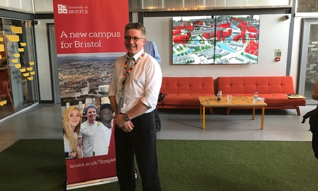 Initial plans revealed for Bristol's £300m Temple Quarter tech campus