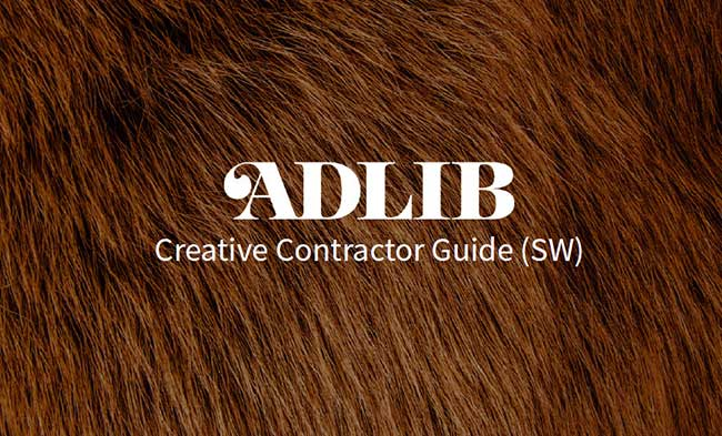 Download the ADLIB Creative Contractor Guide 2018
