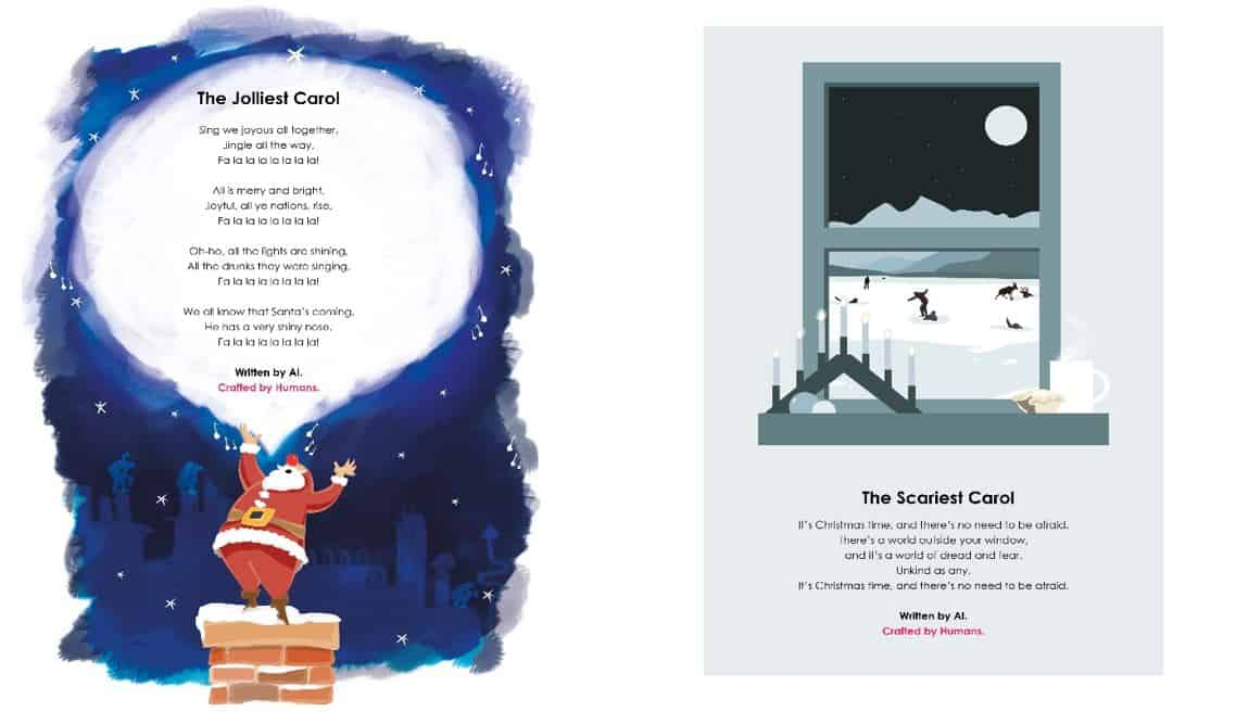 Edit Agency uses AI to reconstruct famous Christmas Carols