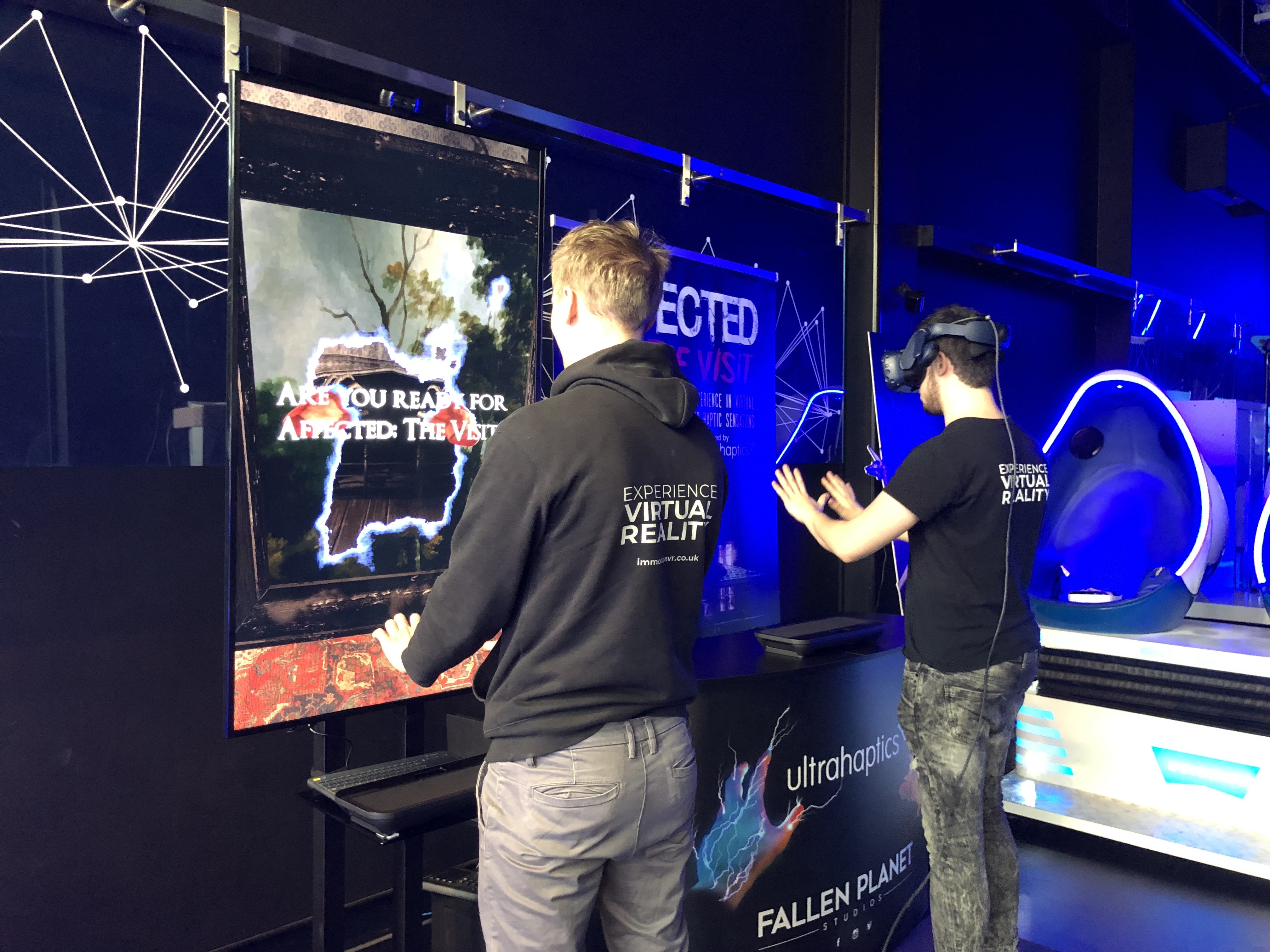 Ultrahaptics, Fallen Planet Studios and Immotion VR team up to create a new kind of VR experience