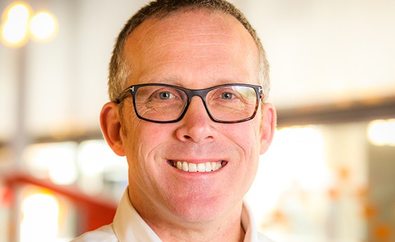 Nick Sturge awarded MBE in Queen's Birthday Honours List