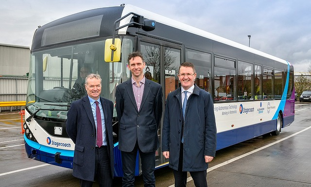 Bristol tech in UK's first commercial driverless bus