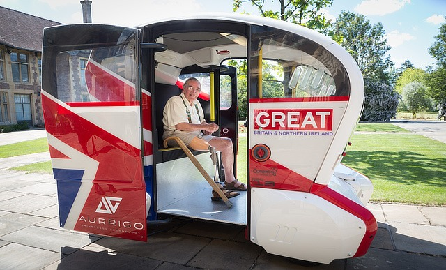 Elderly test out driverless cars