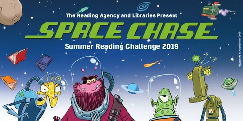 Bristol libraries invites children to join the Space Chase Reading Challenge 2019!