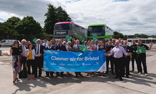 Permanent biomethane plant opens for Bristol bus fleet
