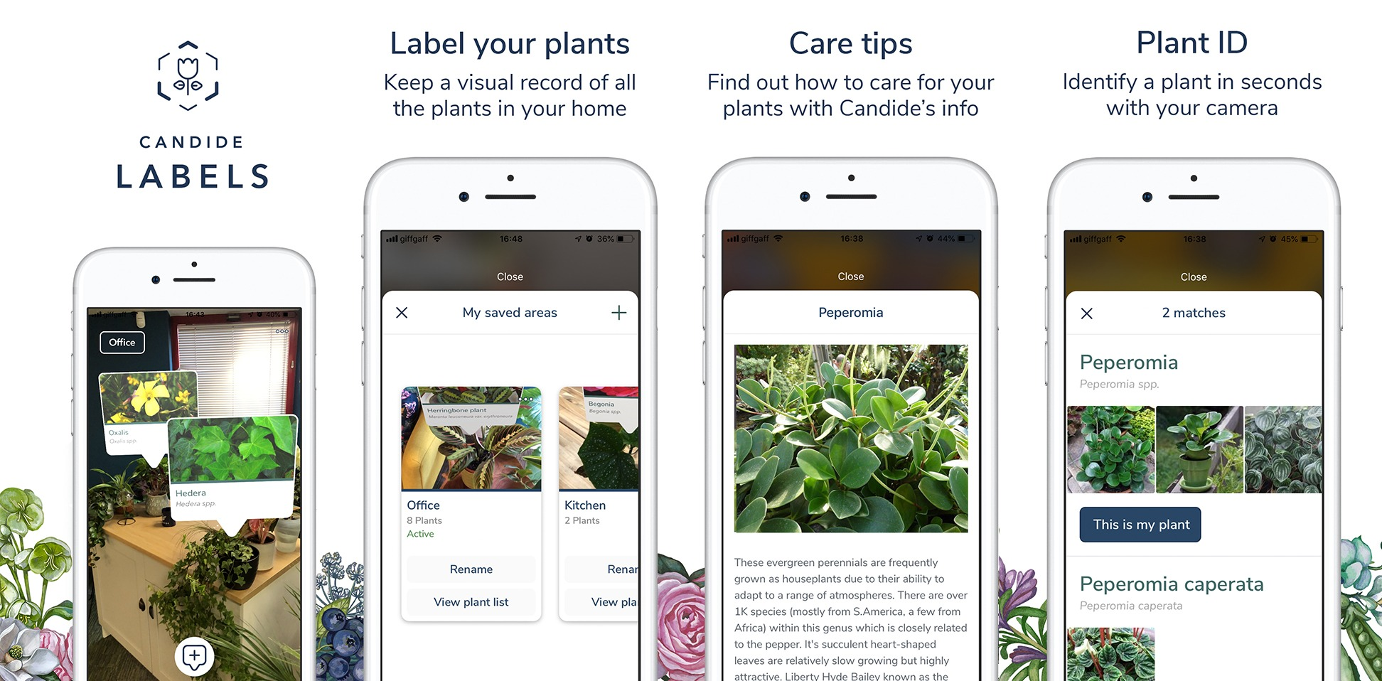 Top gardening innovator Candide launches new AR labelling app