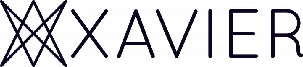 Xavier Analytics logo, Black