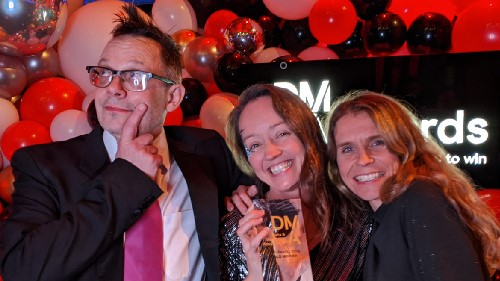 Tiny Giant take gold at DMA Awards 2019