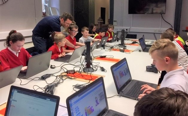 Engine Shed launches school tech tours in partnership with BJSS and Ultraleap